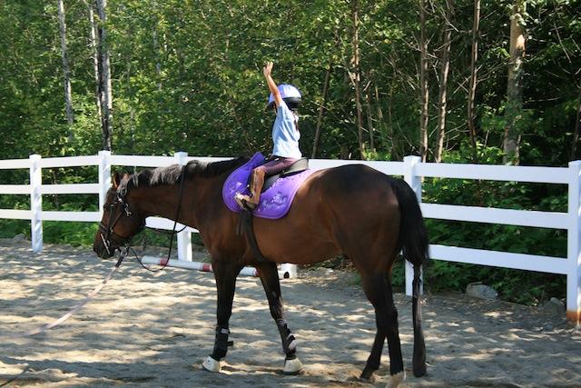 Horse Lesson 3