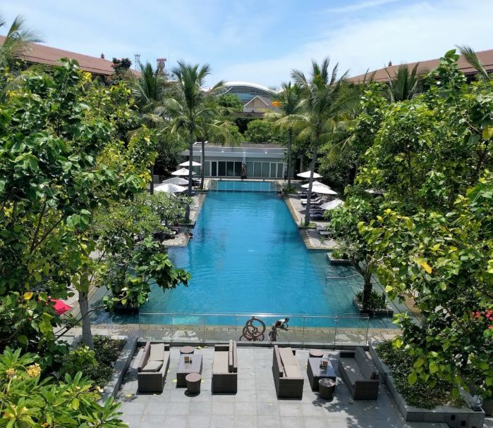 pool at Bali Hilton Garden Inn
