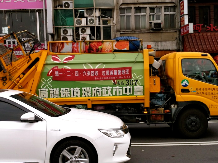 Taichung-Garbage