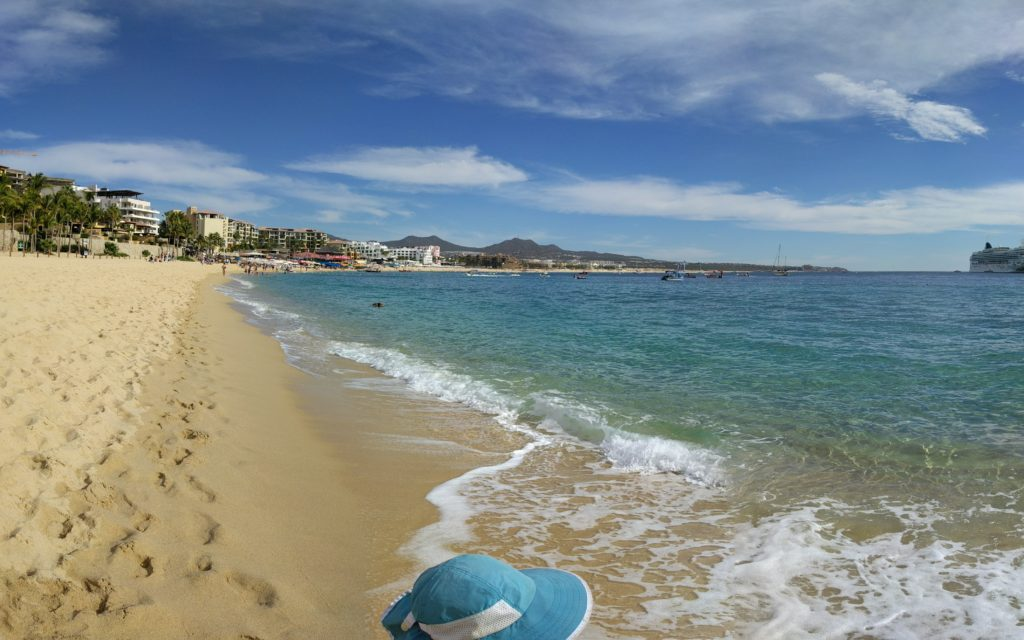 Medano beach in Cabo San Lucas.